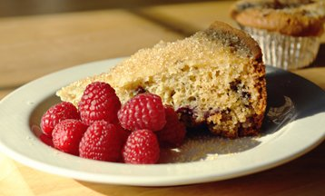Slow-Cooker Very Berry Coffee Cake or Muffins