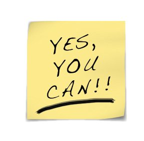 Yes, You Can!!