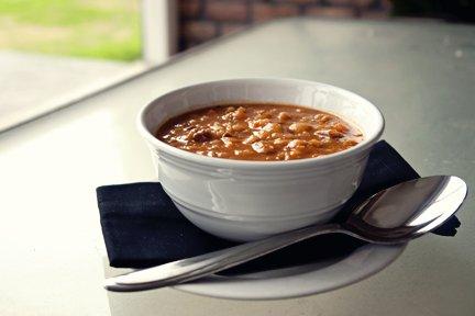 Slow-Cooker Hearty Bean Ham Soup