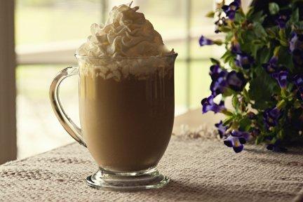 Slow-Cooker Salted Caramel Latte
