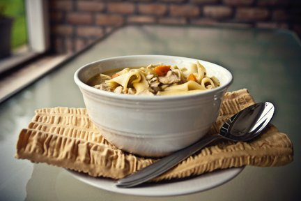 Slow-Cooker best Chicken noodle soup