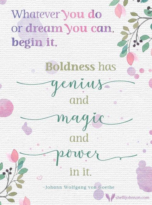 magic, genius, power