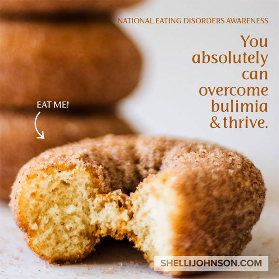 Overcome Bulimia Or Any Eating Disorder shellijohnson.com
